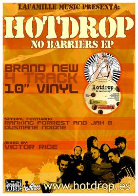 """Lafamille Music presenta, """"No Barriers"""" Ep, lo nuevo de Hotdrop Hotdrop-no-barriers"""