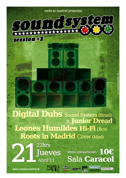 SOUND SYSTEM SESSIONS #2 @ Sala Caracol , Madrid , 21 / 4 / 2011 Ss2_lo1